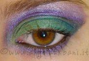 Tutorial trucco Emerald Treasure by *AngyMakeUp* Impara a realizzarlo cliccando qui http://www.angelaurbani.it/emerald_treasure.asp