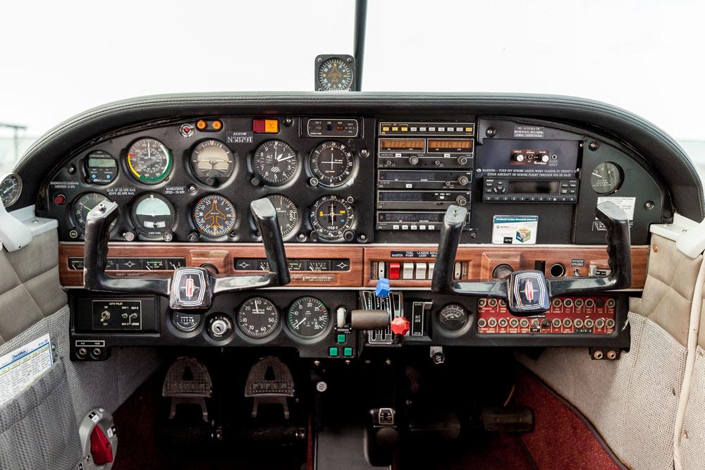 N3879T Instrument Panel