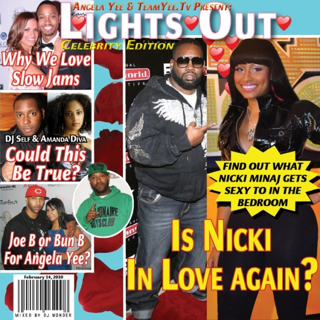 Lights Out Celebrity Edition Front copy
