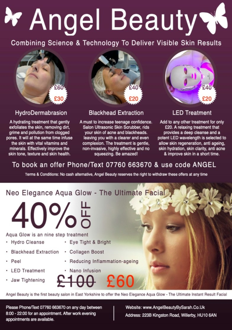 Angel Beauty Salon Willerby Hull HU106AN Great Offers Save Money