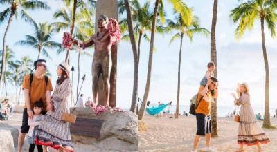 【夏威夷-親子行】DAY2~黃昏的Waikiki Beach杜克雕像+國王大道逛街+international marketplace晚餐