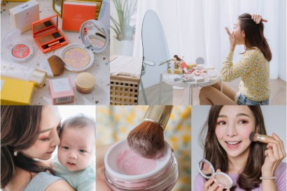 【母嬰】超安心♥日本銷售第一Only Minerals接觸寶寶無罪惡感的超美礦物彩妝+我最愛的刷具們!