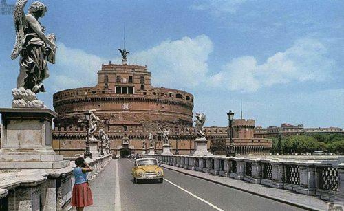 Ponte Sant'Angelo nel 1956
