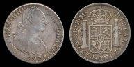 ™Angelcraft Crown World Bank and Reserve -  Nueva España Carolus IIII  Hispaña worth 8 reales 1797