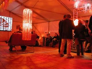 ambiance lumière orange. Le Rock Dans Tous Ses Etats VIP 2007