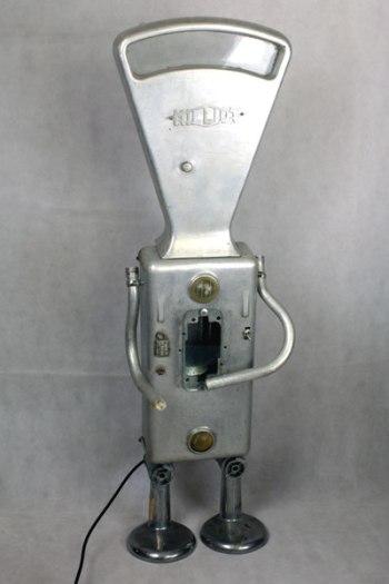 Robot balance en fonte d'aluminium Milliot