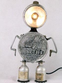 Robot aluminium vélo