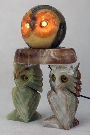 Sculpture Assemblage de marbres.