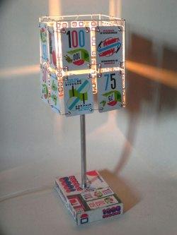 Détournement d'un 1000 bornes, lampe jeux.