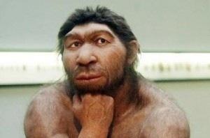 Neandertal pensativo