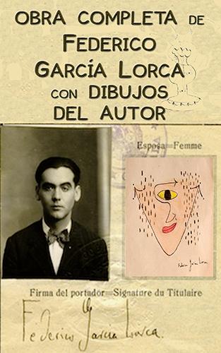 Obras completas de García Lorca con dibujos del autor