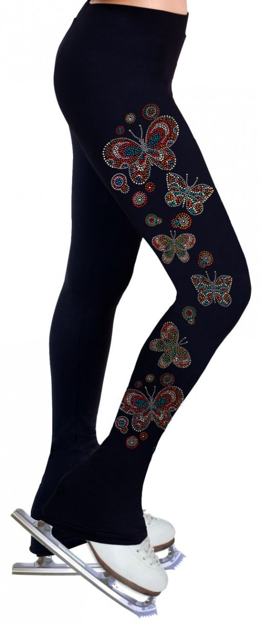 Skating Pants with Rhinestone – R206