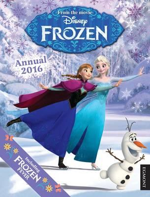 book disney frozen annual 2016