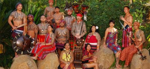 Una tribù maori