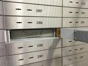 caja de seguridad bancaria