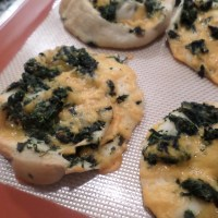 spinach and cheese appetizer