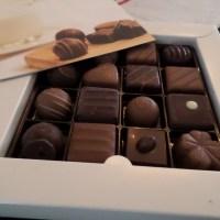 Specialty chocolate for a Valentine celebration