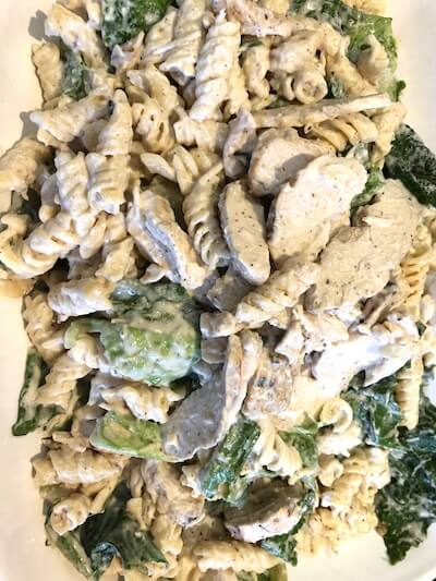 chicken ceser pasta salad