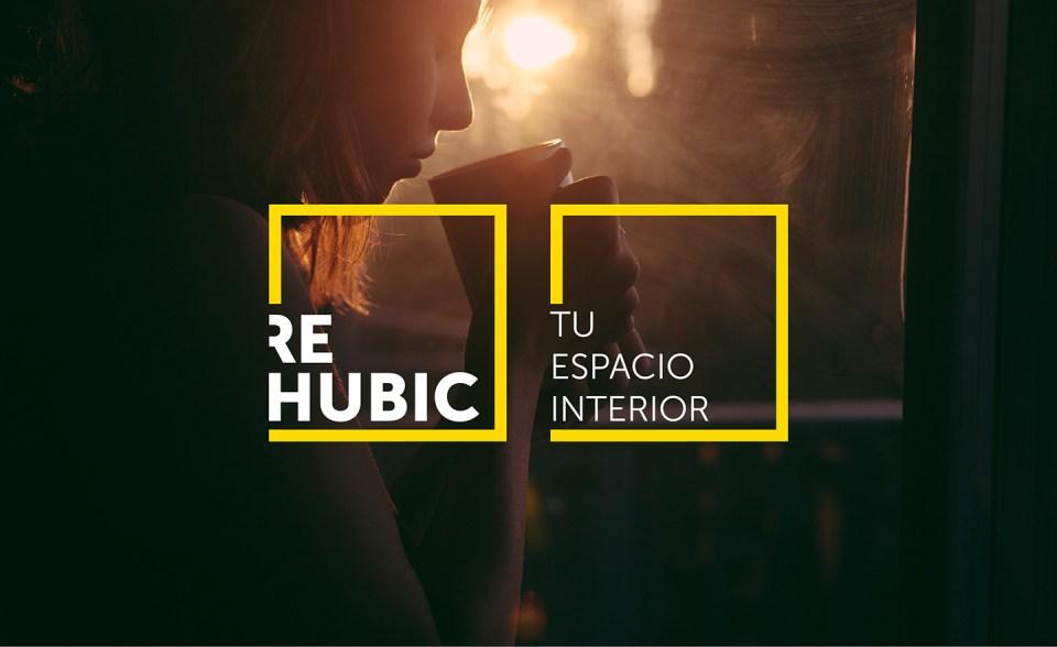 Rehubic web identidad corporativa marca naming espacio aplicación gráfica diseño responsive tablet movil naming branding construccion reforma