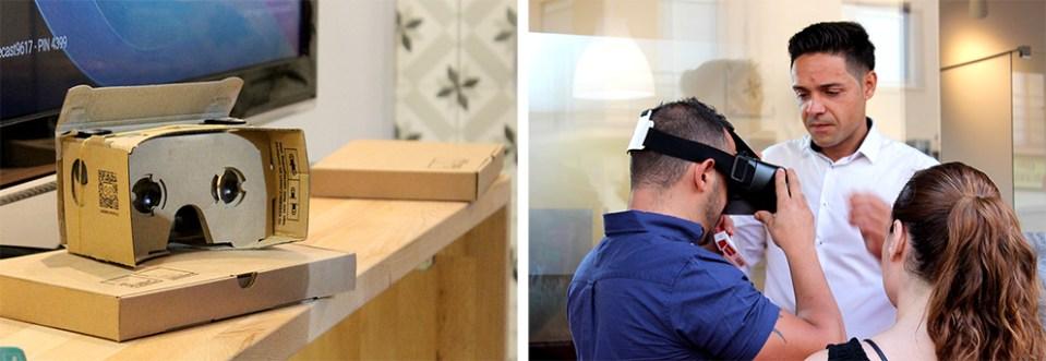 inauguración Rehubic espacio interior mercado ruzafa marca identidad corporativa reforma interiorismo evento domótica realidad virtual catálogo diseño editorial diseño gráfico google cardboard