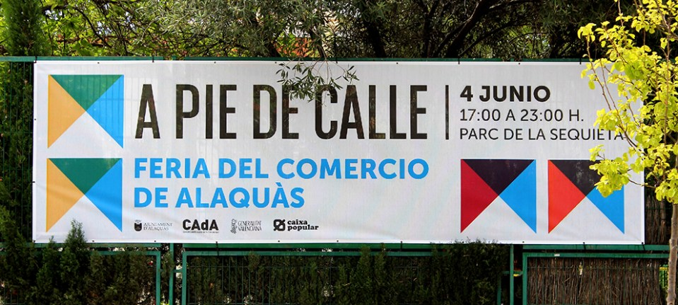 CAdA Alaquas feria market diseño grafico campaña pubilicidad comerciantes nit oberta a pie de calle poster redes sociales facebook comunicación oferta lona