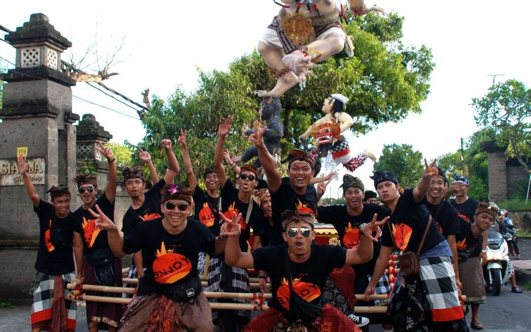 'Nyepi'; Balinese day of silence. 2020