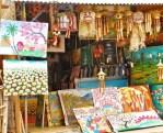 Angel House Ubud shopping trip for guests Sukawati Market gold market