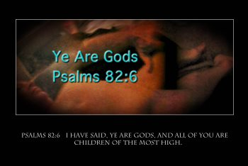 you are gods rulers of gods kingdom
