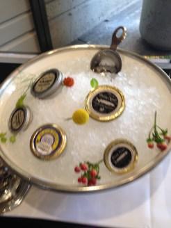 Caviar Selection, Domaine Chandon–Napa, CA