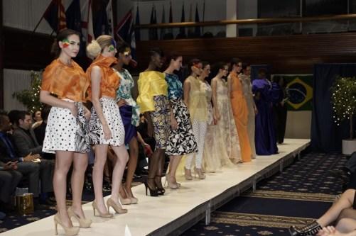 "The fashion show in washingtonDC ,designer Afua Sam Studio D""Maxsi"
