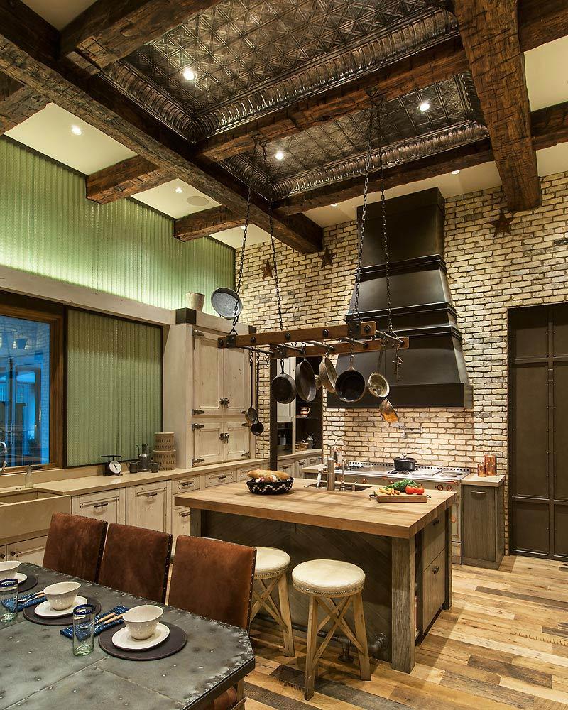 Rustic Revelations - Kitchen - Angelica Henry Design