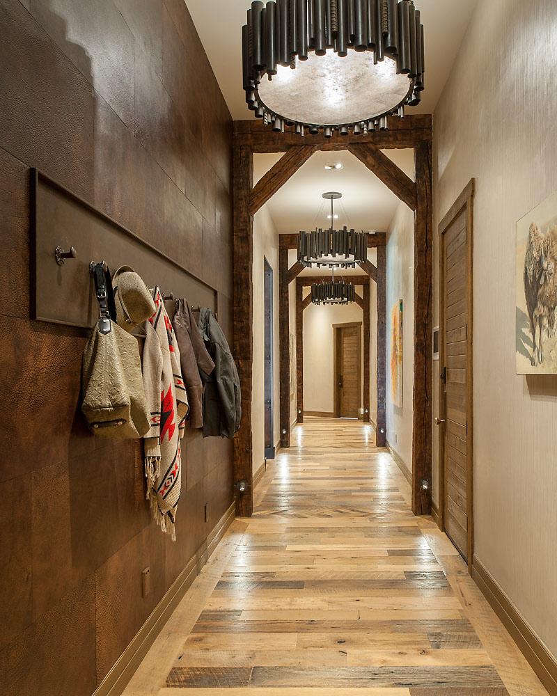 Rustic Revelation - Hallway - Angelica Henry Design