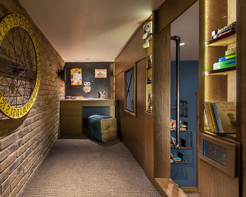 Rustic Revelation - Boys Room Loft Detail - Angelica Henry Design