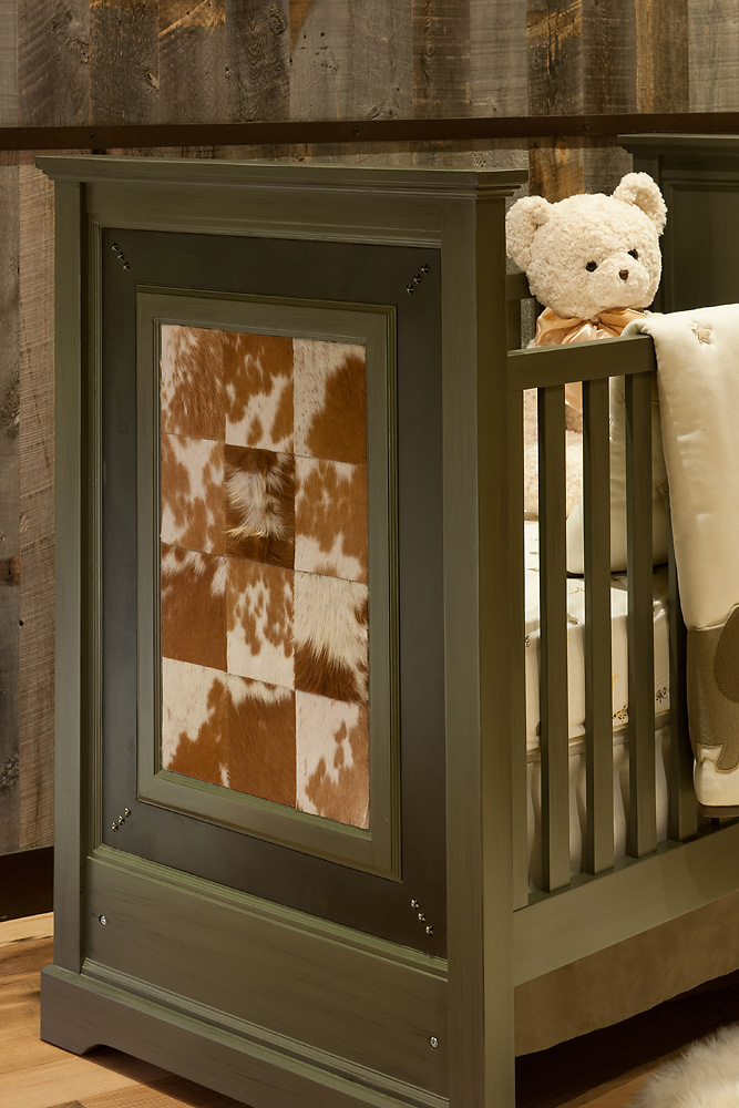 Rustic Revelation - Nursery Detail - Angelica Henry Design