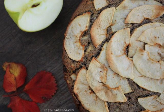 torta di mele vegan, senza glutine e senza zucchero