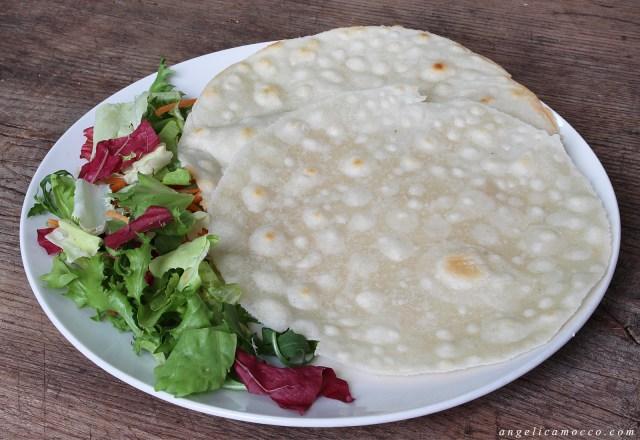 piadina di farina di riso senza glutine