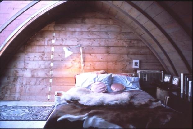 1970's, Milkhouse Loft,  Farmer John's bedroom