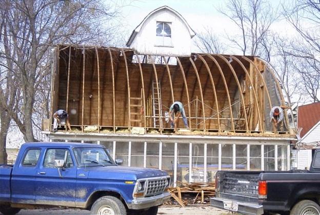2003, saving the Corn Crib