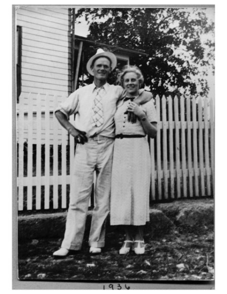The height difference between Farmer John's parents, Lester and Anna