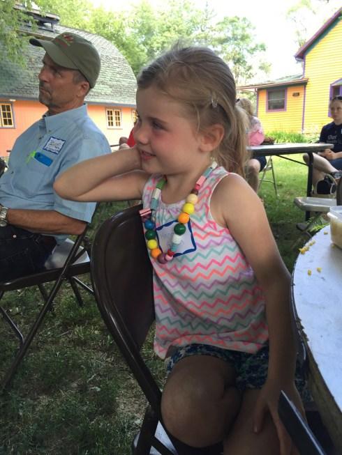HannahHedden-2016SpringFieldDay-ListeningToFarmerJohnsTreeStory