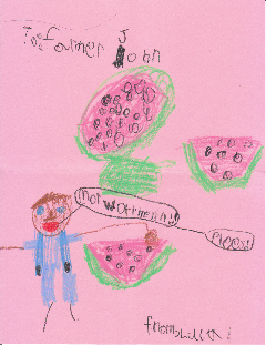 To Farmer John, More Watermelons!! Please! from Luca