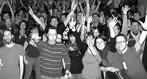 Bild: Das Publikum in München