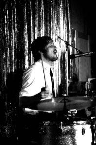 Drummer Valentin in Trance, Berlin, NBI