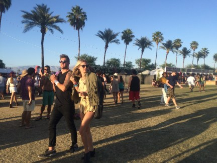 crowds coachella