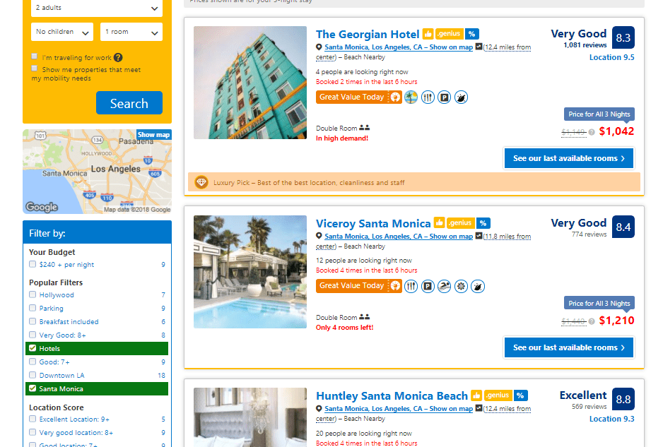 best sites for booking travel