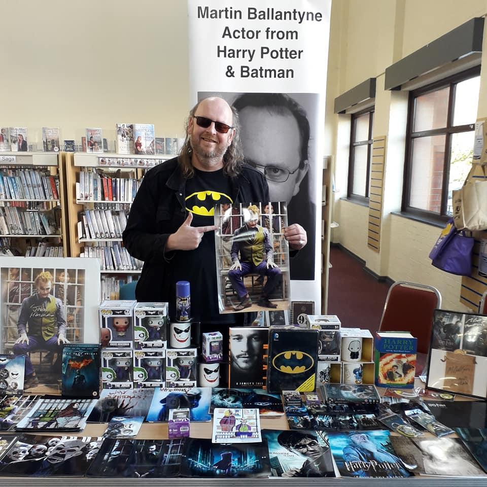 Actor Martin Ballantyne