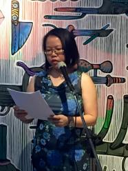 I'm reading In Love with a Monster at Readings@Seksan. Photo credit: Tina Isaacs