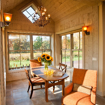 Cobblestone Dining Room