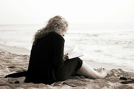 lire sur la plage