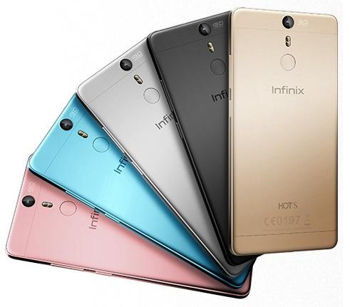 infinix-hot-s Design and colors